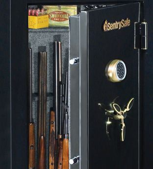 armoire fusil et coffre fort pour pistolet better. Black Bedroom Furniture Sets. Home Design Ideas